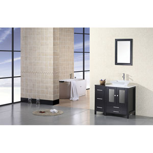 Arlington Dark Espresso 36 Inch Single Sink Vanity Set