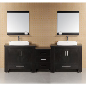 Washington Dark Espresso 36 Inch Modern Bathroom Vanity