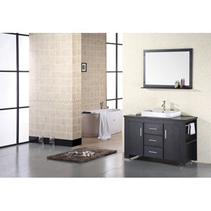 Washington Dark Espresso Single Sink Vanity Set