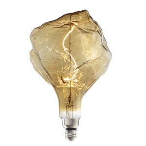 Antique Nostalgic LED Filament Iceberg Standard Base Amber 180 Lumens Light Bulb
