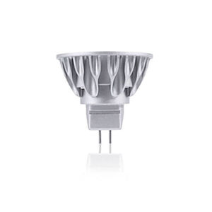 Silver LED MR16 GU5.3 Warm White 600 Lumens Light Bulb