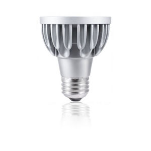 Silver LED PAR20 Standard Base Soft White 960 Lumens Light Bulb