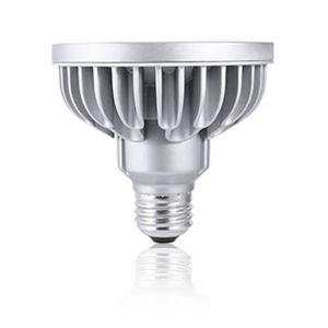 Silver LED PAR30S Standard Base Soft White 1230 Lumens Light Bulb