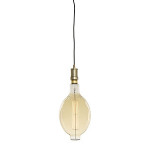 Warm Gold BT56, E26 One-Light Wire Pendant Kit