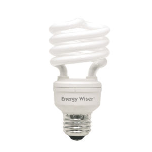 Frost CFL T2 COIL 75 Watt Equivalent Standard Base Warm White 1200 Lumens Light Bulb - 4 Pack