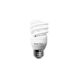 Frost CFL T2 COIL 60 Watt Equivalent Standard Base Warm White 750 Lumens Light Bulb, Pack of 8