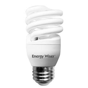 Frost CFL T2 COIL 60 Watt Equivalent Standard Base Cool White 750 Lumens Light Bulb, Pack of 8