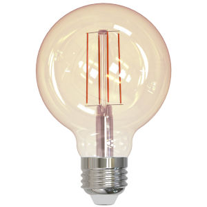 Antique G25, E26 2200K 5W LED Bulb, Pack of Two