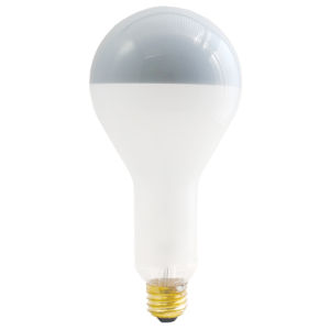 Frost Silver Bowl PS30, E26 2700K 200W Incandescent Bulb, Pack of Six