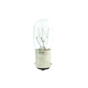 Clear T7, BA15d 2700K 15W Incandescent Bulb, Pack of 25