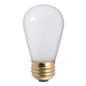 Frost Incandescent S14 Standard Base Warm White 70 Lumens Light Bulb