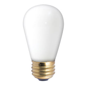 White Incandescent S14 Standard Base Warm White 60 Lumens Light Bulb