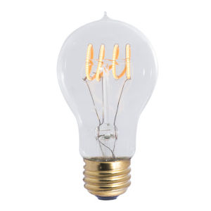 Antique A19, E26 2200K 4W LED Bulb, Pack of Two