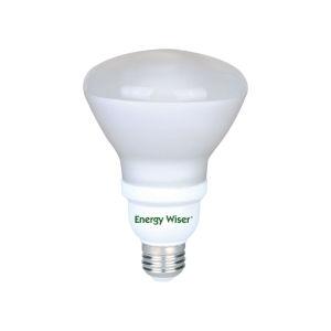 Frost CFL R40 120 Watt Equivalent Standard Base Cool White 1150 Lumens Light Bulb - 4 Pack