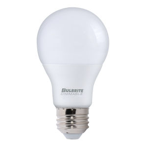 Frost LED A19 60 Watt Equivalent Standard Base Cool White 800 Lumens Light Bulb - 4 Pack