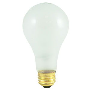 150W A21 E26 Incandescent Frost Bulb