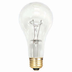 150W A21 E26 Incandescent Clear Bulb