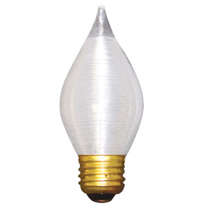 25W C15 E26 Satin Thread Spun Bulb