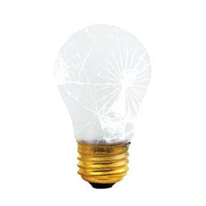 40W A15 E26 Frost Bulb