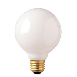40W G30 E26 White Bulb