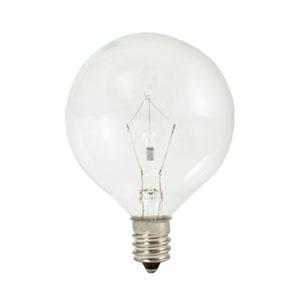 15W G16.5 E12 Krypton/Xenon Clear Bulb