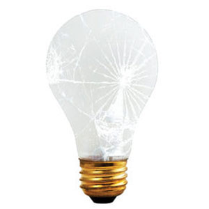 60W A19 E26 130V Frost Shatter Resistant Bulb