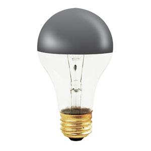 60W A19 E26 Half Chrome Bulb