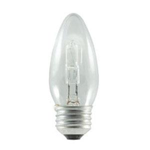 43W B11 E26 Halogen Clear Bulb