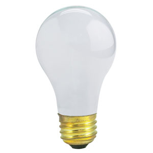 29/43/72W A19 E26 Halogen Frost Bulb
