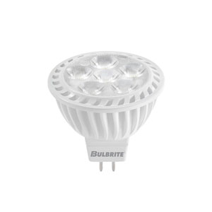 7.7W 12V MR16 GU5.3 LED Clear Bulb, Warm White