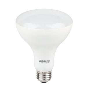 9W BR30 E26 LED Warm White Bulbs, 4 Pack