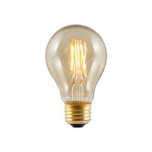 4W A19 E26 LED Amber Bulb