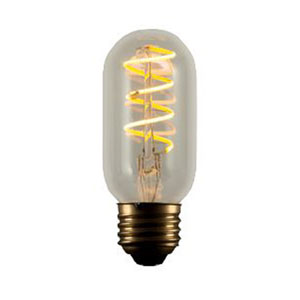 4W ST18 E26 LED 2-Inch Vintage Curved Filament Bulb