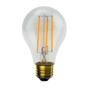 7W A19 E26 LED Clear Filament Bulb, 800 Lumens