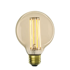 5W G25 E26 LED Antique Bulb