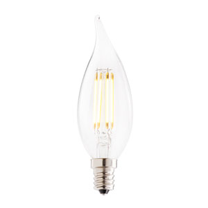 2.5W CA10 E12 Clear Filaments LED Bulb