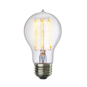 7W A19 E26 Clear Filaments LED Bulb