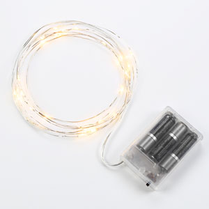 1.5W LED Silver Starry String Lights