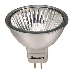20W MR16 GU5.3 12V Halogen Silver Flood Bulb