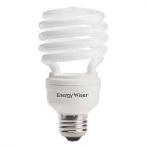 23W T2 Coil E26 CFL Soft Daylight Bulb