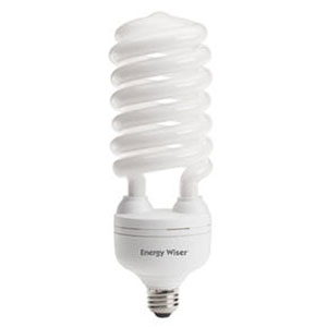 55W T5 Coil E26 CFL Warm White Bulb