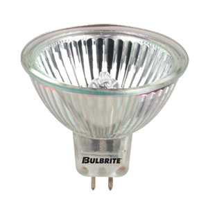 50W MR16 GU5.3 12V Halogen Lensed Flood Long Life Bulb