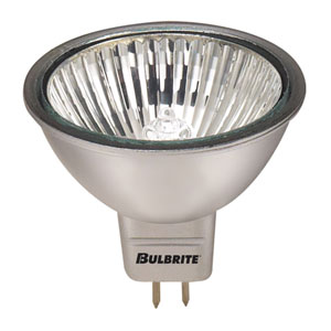 50W MR16 GU5.3 12V Halogen Silver Narrow Flood Bulb