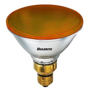 90W PAR38 E26 Halogen Amber Bulb