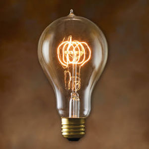 40W A23 E26 Nostalgic Edison Victorian Loop Filament Bulb