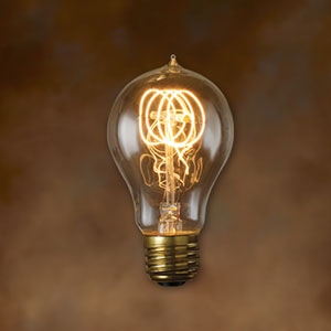 60W A19 E26 Nostalgic Antique Bulb