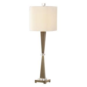 Niccolai Antique Nickel One-Light Lamp