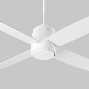 Oslo Hugger White 52-Inch Ceiling Fan