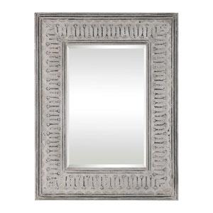 Argenton Aged Gray Rectangle Mirror