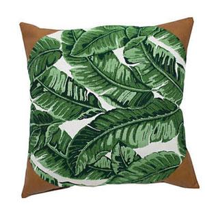 Tropics 20-Inch Emerald Throw Pillow